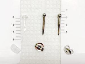 軟骨用ピアッサーの有効軸(長さ)比較
