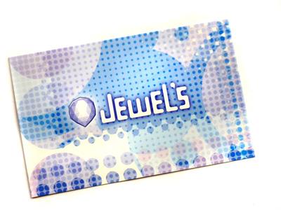 jewel'sでピアスを購入するとカードがついてくる